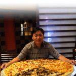 Pizza 1 Meter di Surabaya